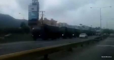 camiones de guerra Venezuela