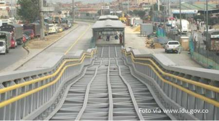 Estacion de Transmilenio en Bosa