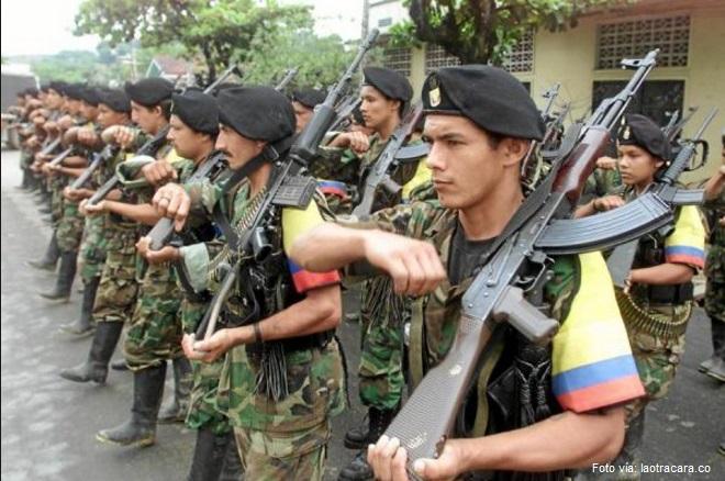 guerrilleros FARC