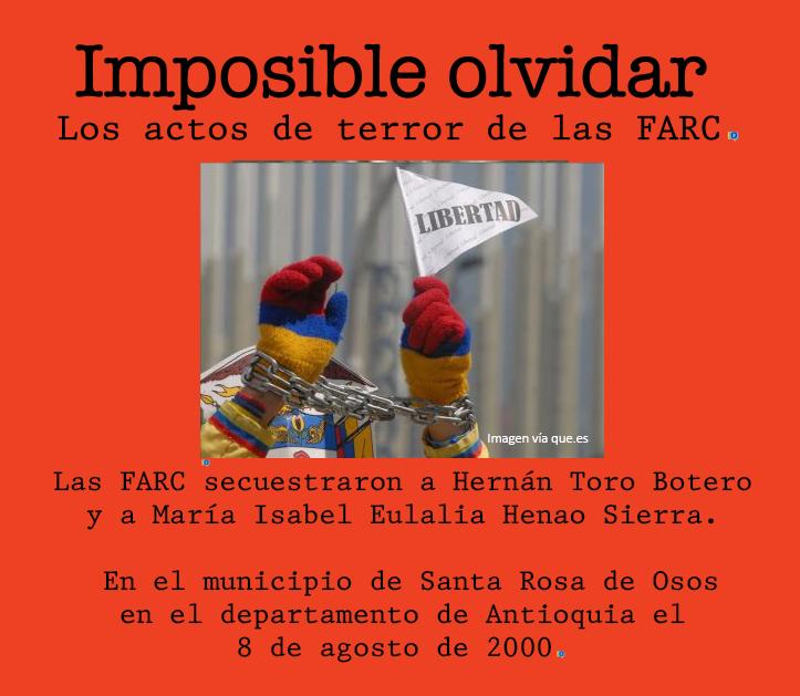 Otro secuestro de las FARC que Santos perdona