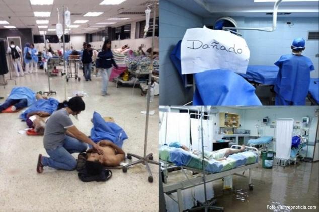 Resultado de imagen para hospitales en venezuela