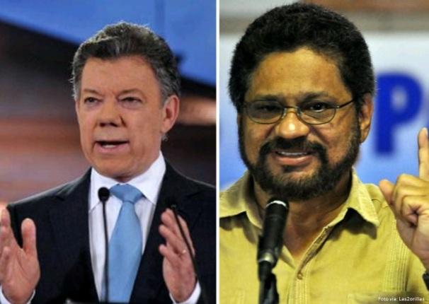 santos y las FARC