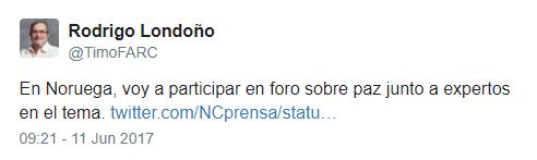 tweet timochenko
